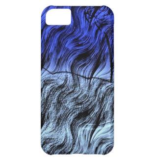 Azul 111 de Digitaces Funda Para iPhone 5C