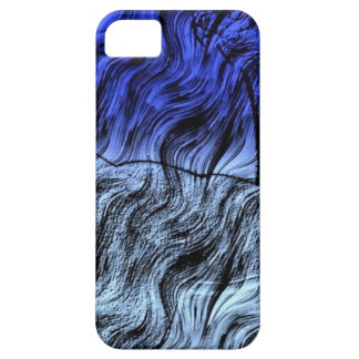 Azul 111 de Digitaces iPhone 5 Fundas