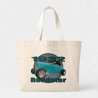 Azul 1932 de cielo del automóvil descubierto del D Bolsas De Mano