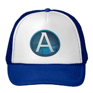 Azul A - Gorra del camionero (azul)