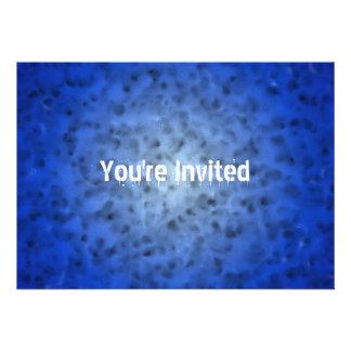 Azul abigarrado anuncios personalizados