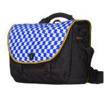 Azul abstracto bolsas para portatil