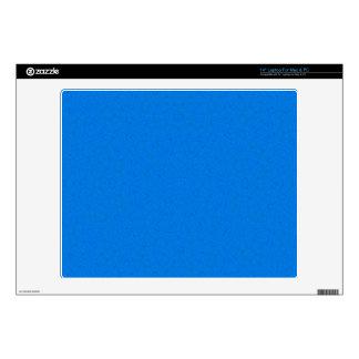 Azul abstracto del modelo 35,6cm portátil calcomanía