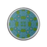 Azul abstracto del modelo altavoz