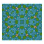 Azul abstracto del modelo impresiones