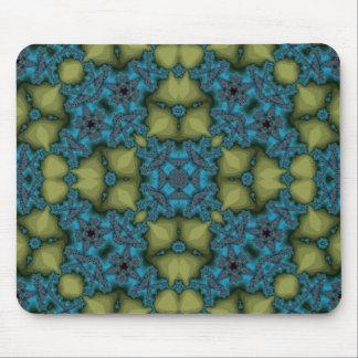 Azul abstracto del modelo tapete de ratones