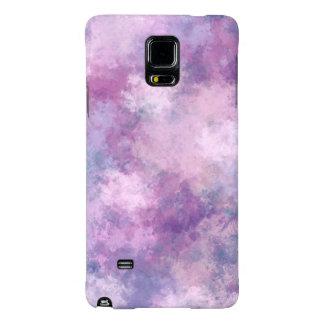 Azul abstracto, lila, pintura de acrílico rosada
