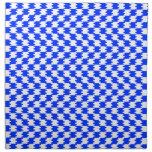Azul abstracto servilletas de papel
