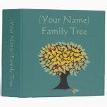 Azul adaptable del árbol de familia