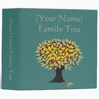 """Azul adaptable del árbol de familia carpeta 2"""""""