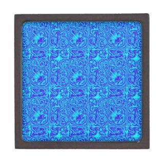 Azul aguado cajas de regalo de calidad