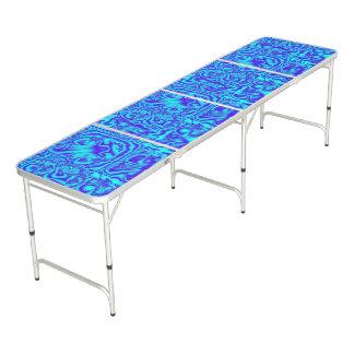 Azul aguado mesa de ping pong