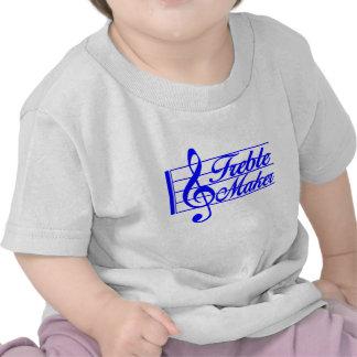 AZUL agudo del fabricante Camiseta