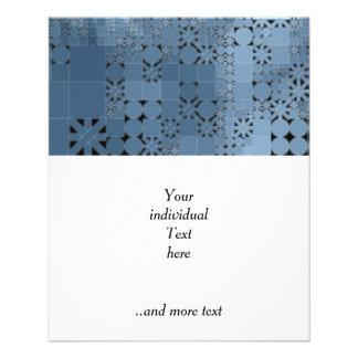 azul amistoso de la mezcla folleto 11,4 x 14,2 cm