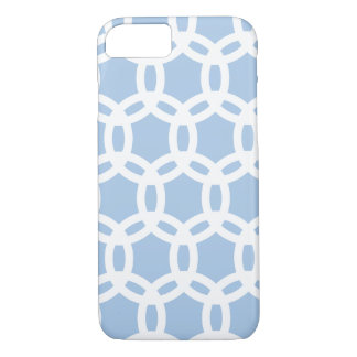 Azul apacible del modelo retro elegante elegante funda iPhone 7