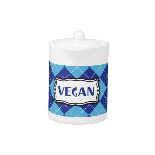 Azul Argyle del vegano