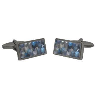 azul artístico de los cubos 9 (i) gemelos plomizos
