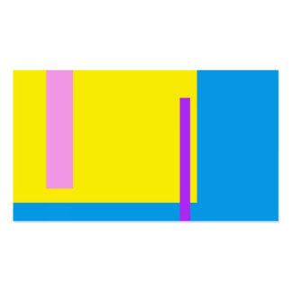 Azul artístico del espacio tarjetas de visita
