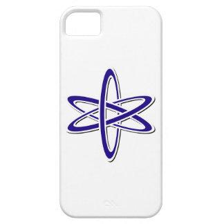 Azul atómico iPhone 5 Case-Mate carcasas