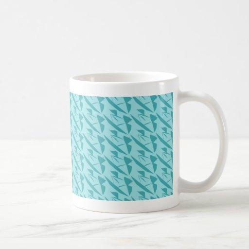 azul azul taza