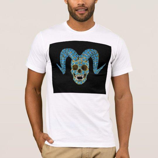Azul Basic American Apparel T-Shirt 100% cotton