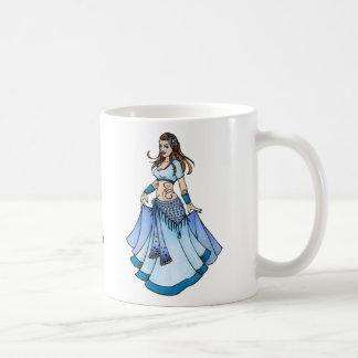 Azul Bellydancer de Sarah Taza De Café