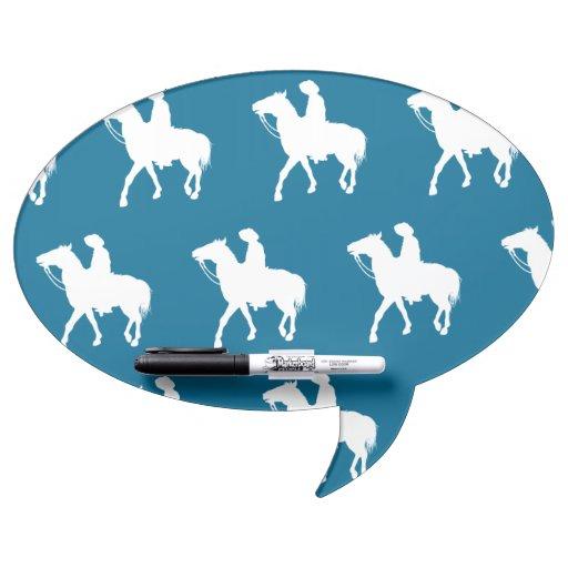 Azul blanco del vaquero pizarra blanca