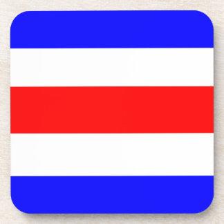 Azul blanco rojo de Charlie Posavasos