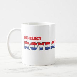 Azul blanco rojo de las elecciones de Roybal-Allar Tazas