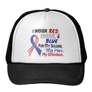 Azul blanco rojo para mi nieto gorras de camionero