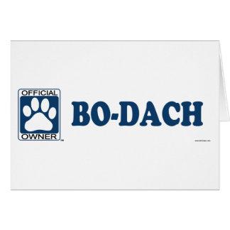 Azul BO-Dach Felicitación