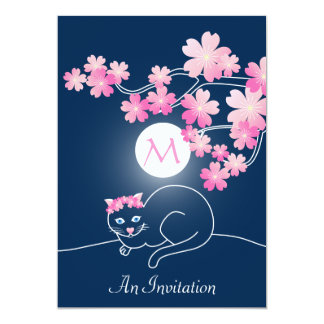 Azul bonito de Sakura del rosa de la luna de las Comunicado