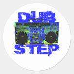 Azul Boombox de Dubstep Etiqueta