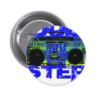 Azul Boombox de Dubstep Pins