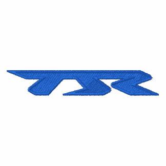 Azul bordado TJR Stich de la sudadera con capucha