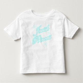 Azul brillante de la princesa judía camisetas