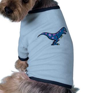 Azul Camiseta Con Mangas Para Perro