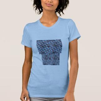 Azul, camiseta del tiburón playeras
