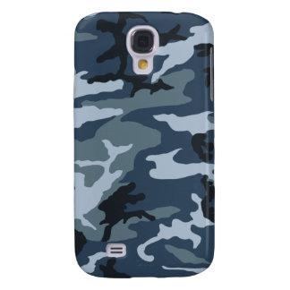 Azul-Camo Funda Para Galaxy S4