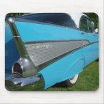 Azul Chevy 1957 Mousepad Alfombrilla De Ratón
