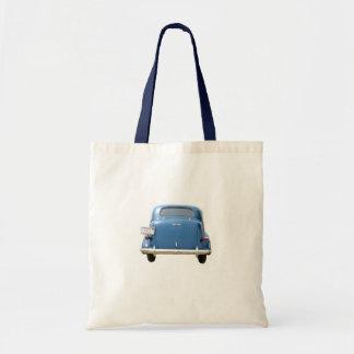Azul Chevy del vintage Bolsa De Mano