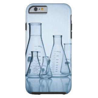 Azul científico de la cristalería funda de iPhone 6 tough