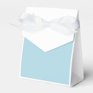 Azul claro caja para regalo de boda