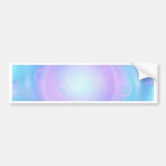 Azul claro de la meditación creado por Tutti Pegatina Para Auto