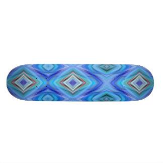 azul claro del modelo de zigzag diseñado por Tutti