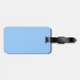 Azul claro etiquetas bolsa