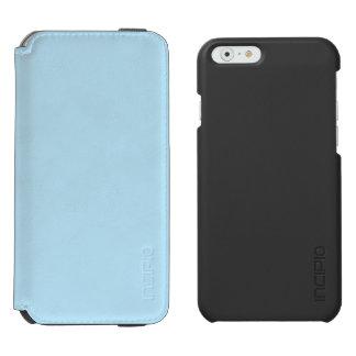 Azul claro funda billetera para iPhone 6 watson