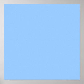 Azul claro póster