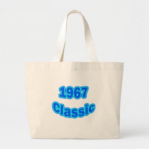 Azul clásico 1967 bolsa