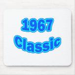 Azul clásico 1967 tapete de ratón